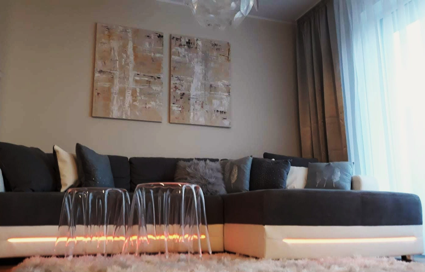 kuchyně a obývací pokoje